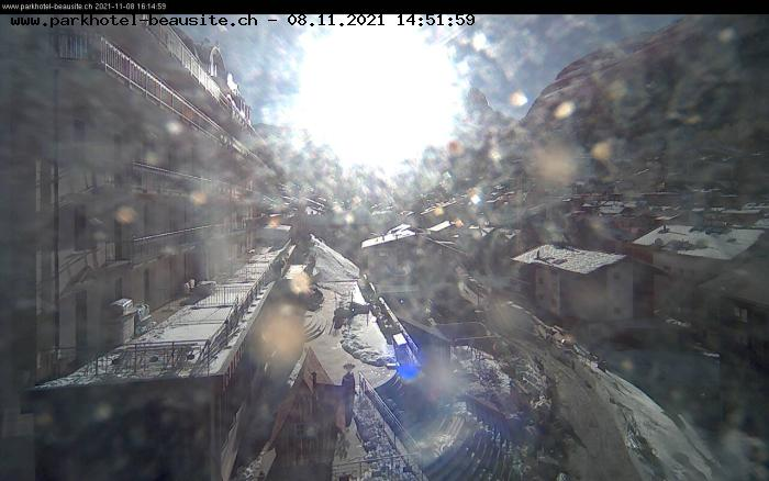 Webcam Hotel Beausite Zermatt